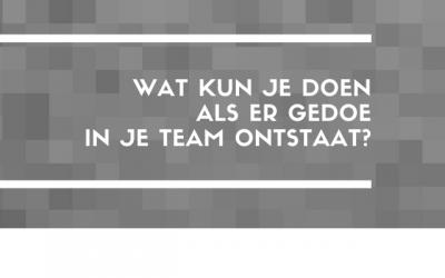 Gedoe in je team, je kunt er op wachten.